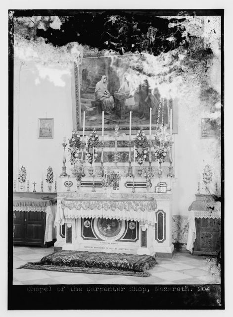 Chapel of the Carpenter Shop, Nazareth