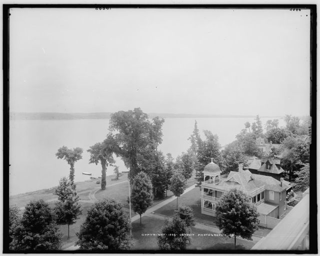 Chautauqua Lake from Athenaeum Hotel