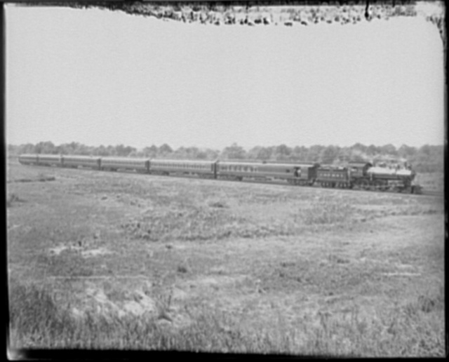 Chicago and North Western Ry. passenger train