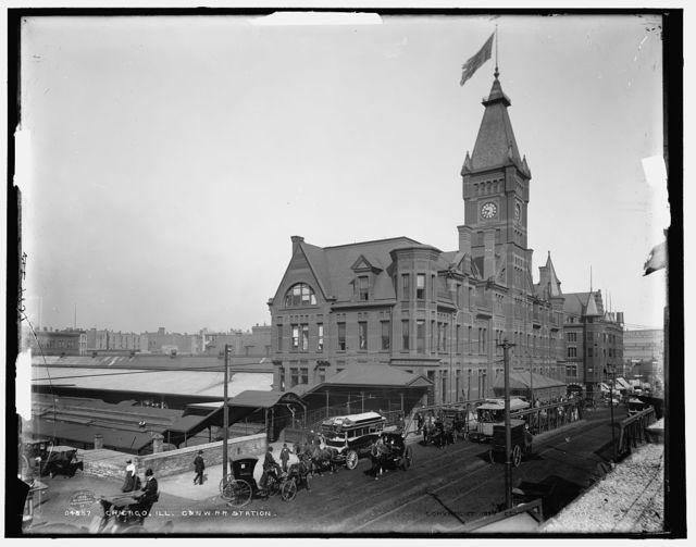 Chicago, Ill., C. & N.W. R.R. station