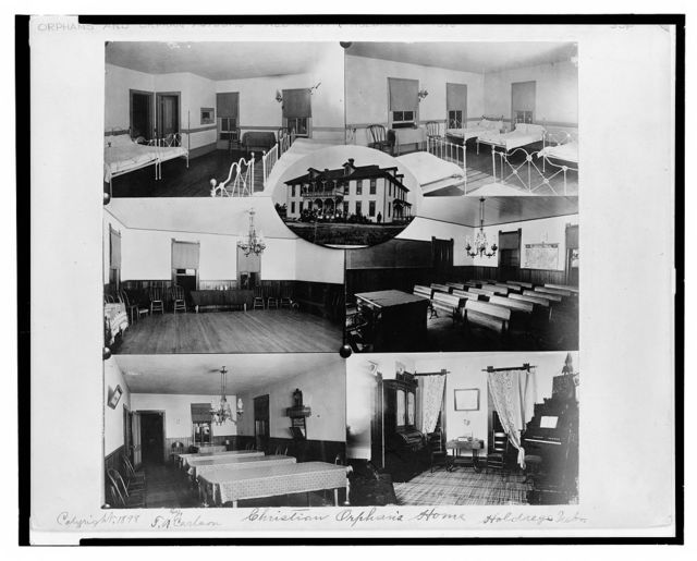 Christian orphan's home, Holdrege, Neb. / T.A. Carlson.