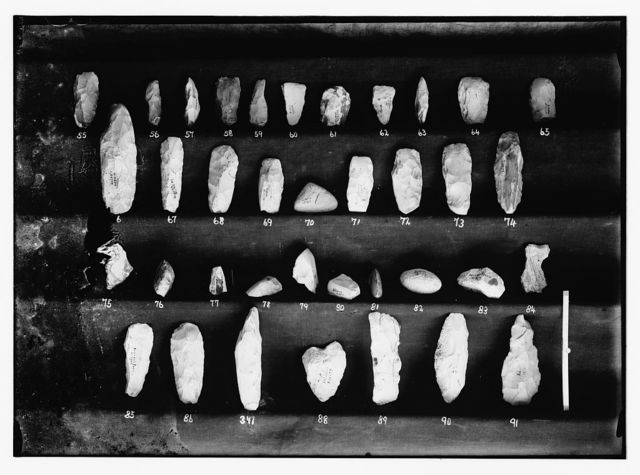 Collection of flints