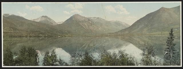 Colorado, the Upper Twin Lake
