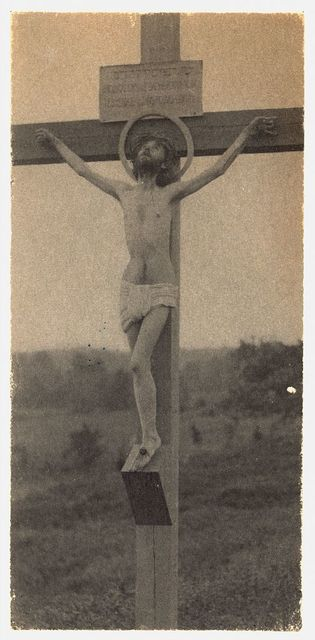 [Crucifixion with halo, frontal]