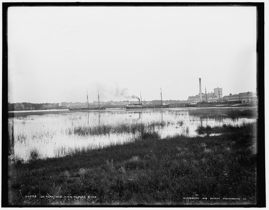 De Pere, Wis., view across river