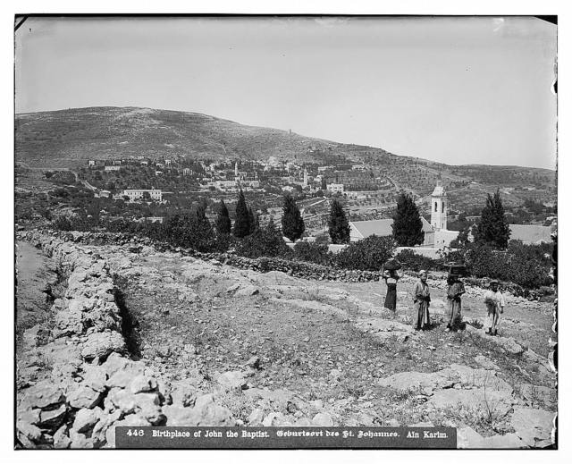 Environs of Jerusalem. 'Ain Karim, new Russian settlement / American Colony, Jerusalem.