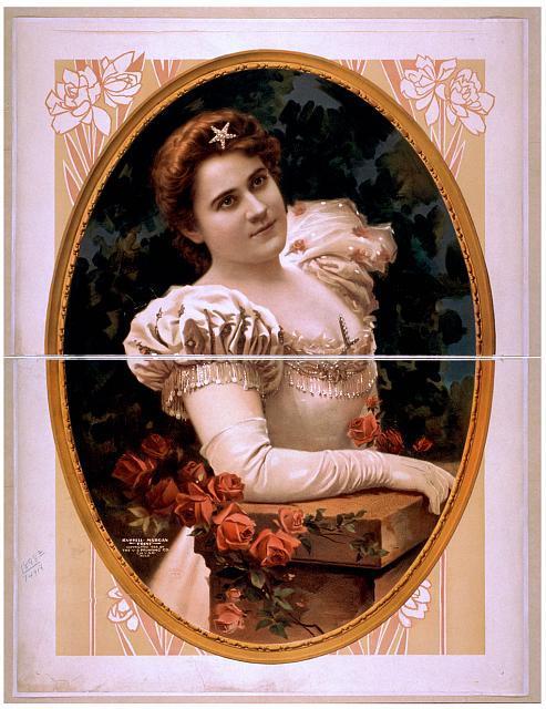 [Fanny Rice portrait]