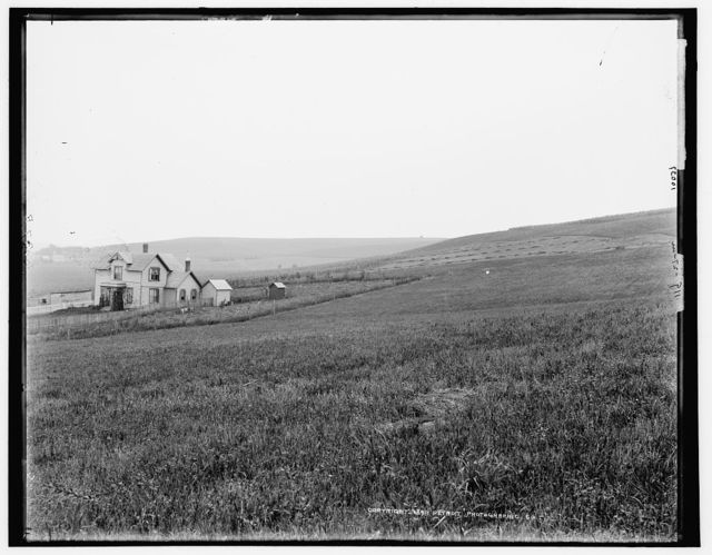 [Farm scene near Arion, Boyer Valley, Iowa]