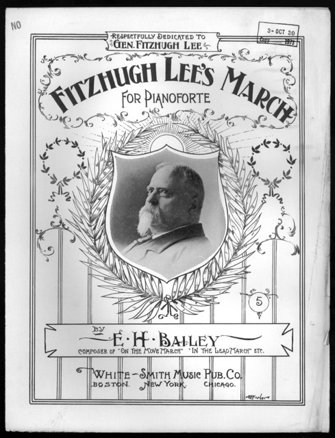 Fitzhugh Lee's march