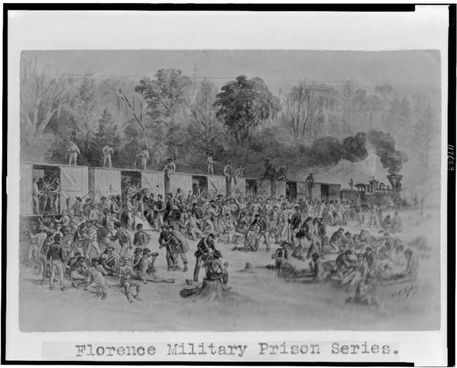"Florence military prison series--""Coming into the Union lines"" / J.E. Taylor."