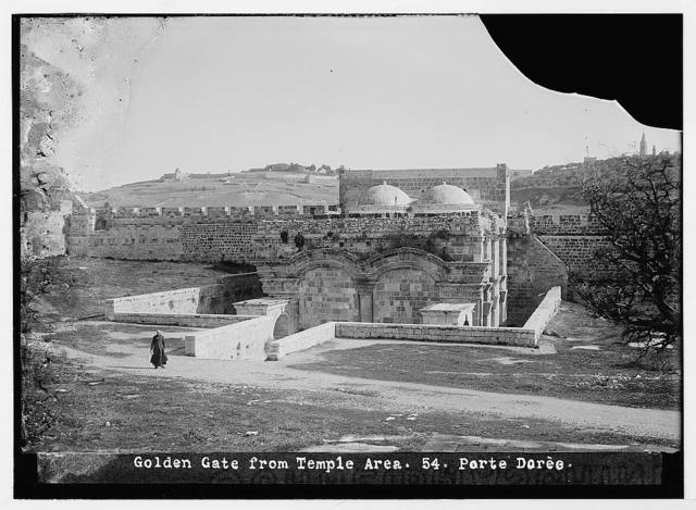 Golden Gate from the Temple area