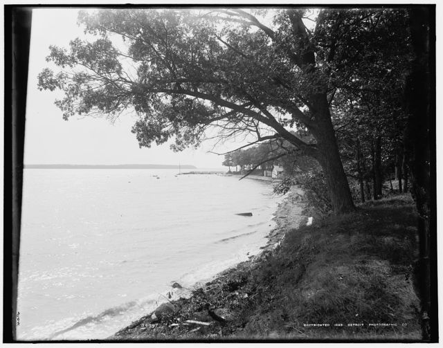 [Green Lake from Pleasant Point, Wis.]