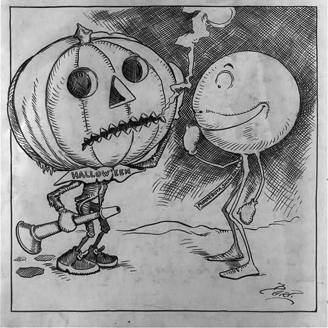 Halloween and the Minnesota snowball