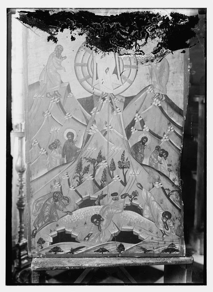 Icons in Chapel of 40 Martyrs taken for Dr. Willoughby of Chicago