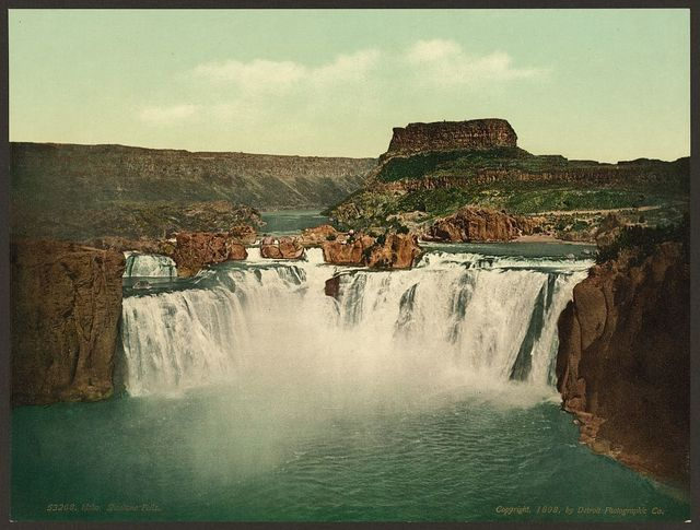 Idaho. Shoshone Falls