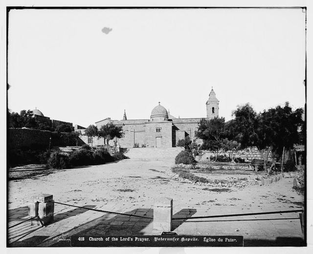 Jerusalem (El-Kouds). Church of the Lord's Prayer / American Colony, Jerusalem.