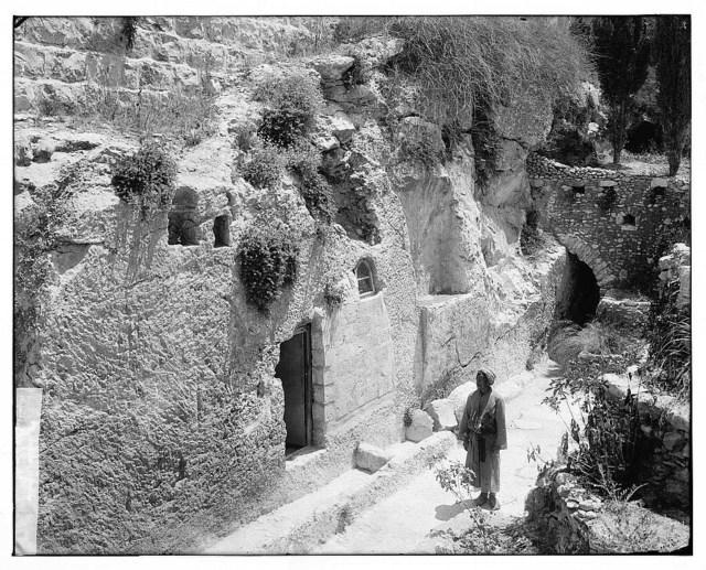 Jerusalem (El-Kouds). Garden Tomb, exterior