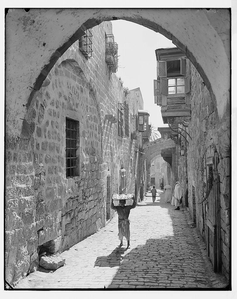 Jerusalem (El-Kouds). Via Dolorosa.