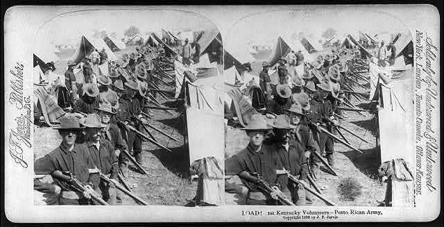 Load! 1st Kentucky Volunteers - Porto [sic] Rican Army