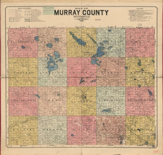 Map of Murray County, Minnesota : compiled and drawn from a special survey and official records.