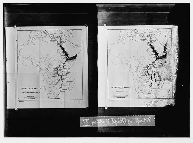 Map of Rift Valley