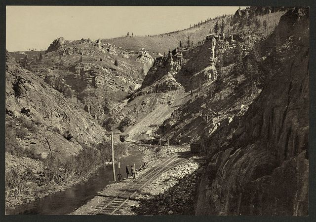 Mines in Eagle River Canon [Cañon]