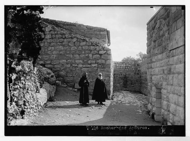 Mount of Olives (Jebel Et-Tur) etc. Spot of Betrayal