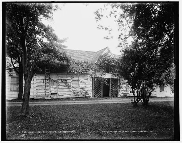 Neenah, Wis., Gov. Doty's old homestead