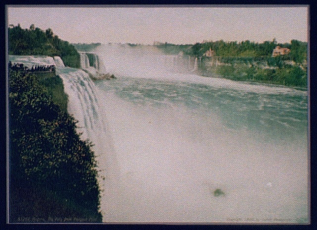 Niagara, the Falls from Prospect Point
