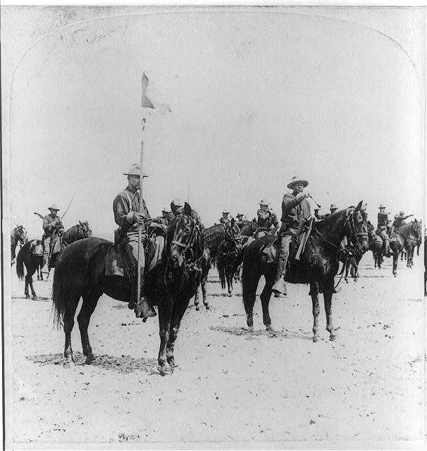 Ninth U.S. Cavalry--famous Colored Regiment--Draw Sabers!