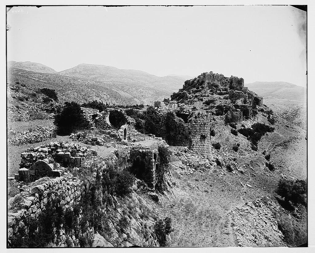 Northern views. Castle of Subeibeh