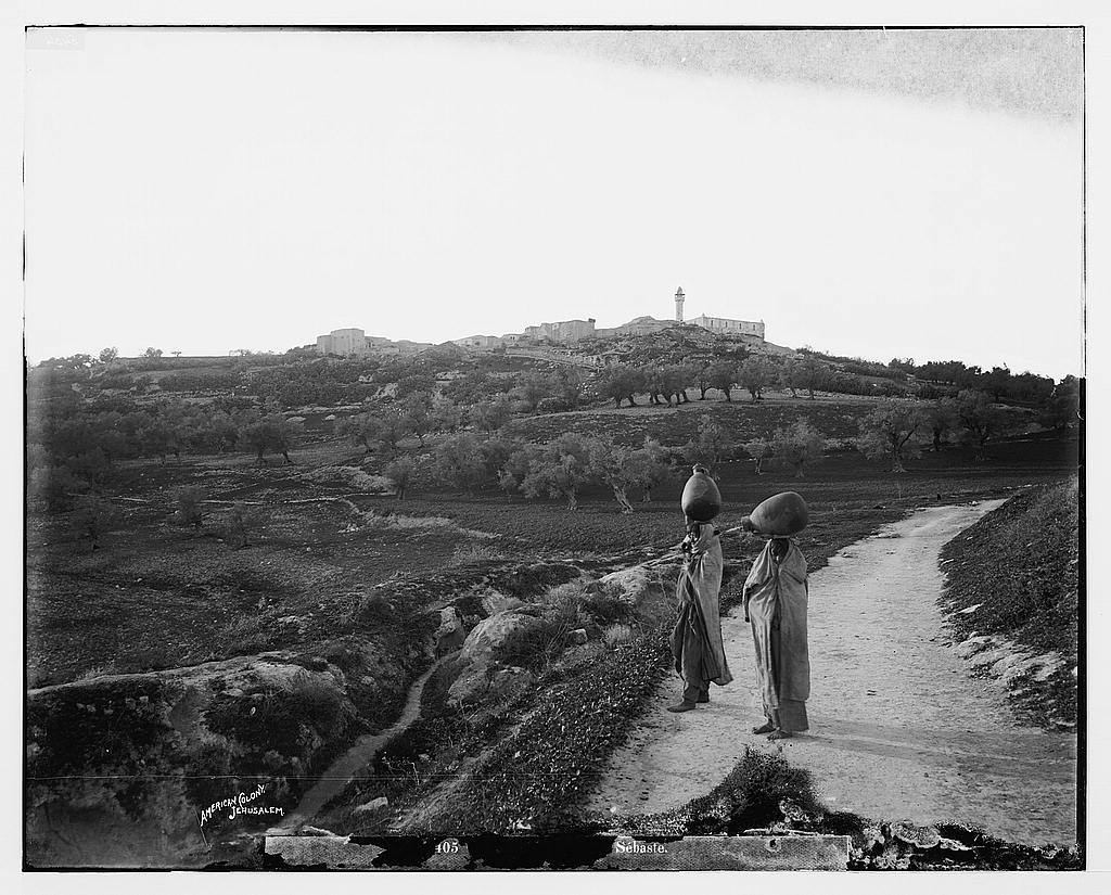 Northern views. General view of Samaria / American Colony, Jerusalem.