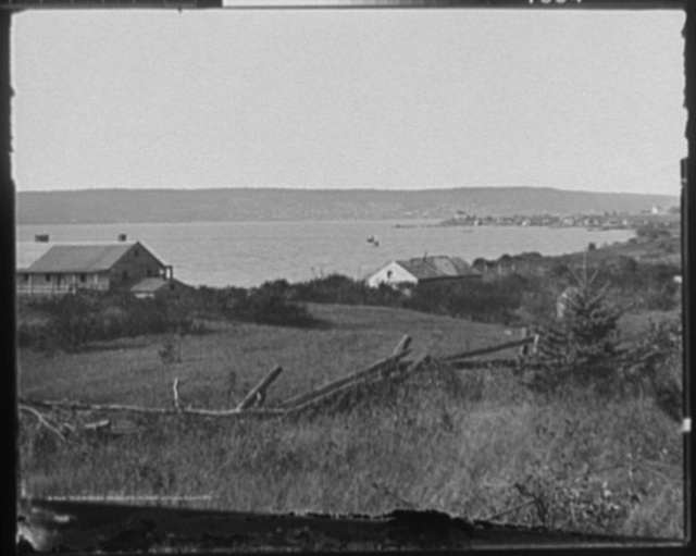 Old Mission, Madeline Island, Bayfield in distance