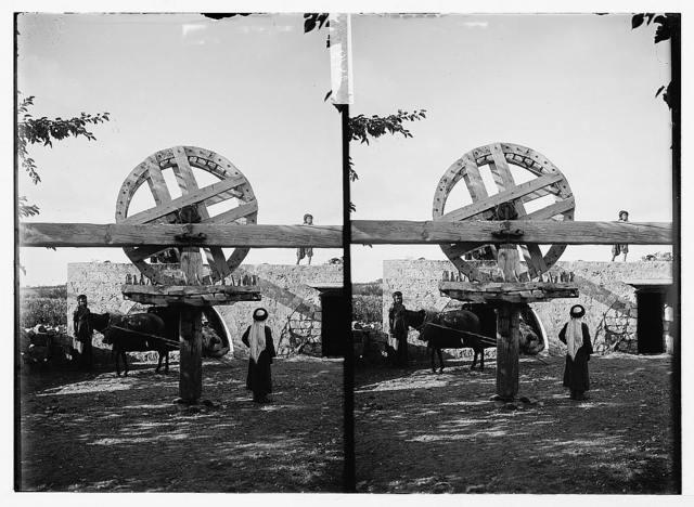 Oriental irrigation wheel
