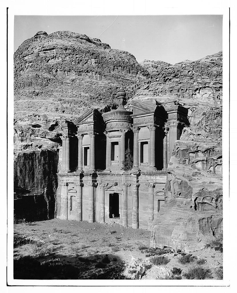Petra. Ed-Deir from the southwest