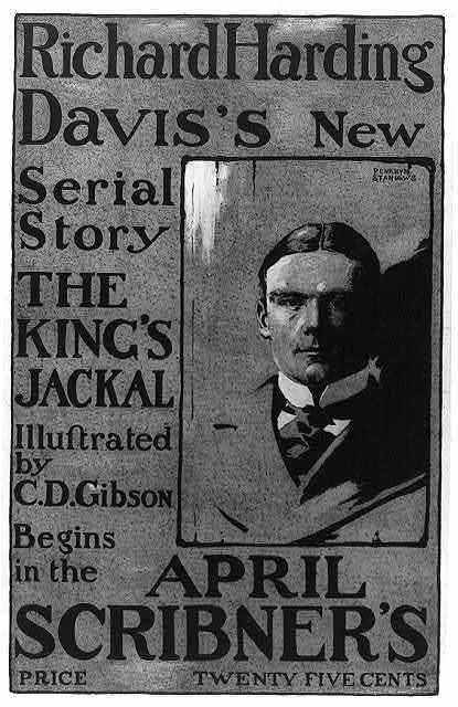 Richard Harding Davis's new serial story ... April Scribner's