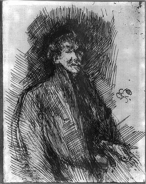 [Self-portrait of Whistler]