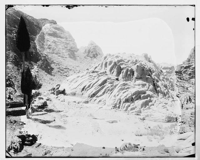 Sinai. Hill of the Elders.
