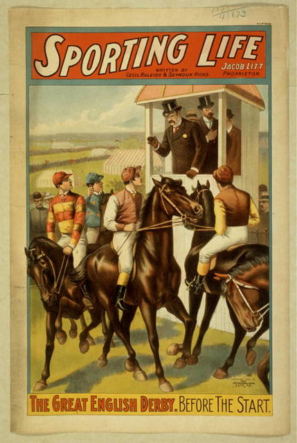 Sporting life written by Cecil Raleigh & Seymour Hicks.