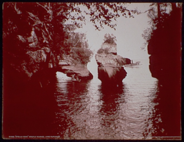 """Stella Cove"", Apostle Islands, Lake Superior"