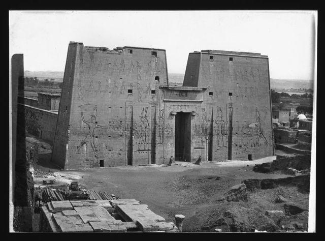 Temple of Horus. Edfu, Egypt