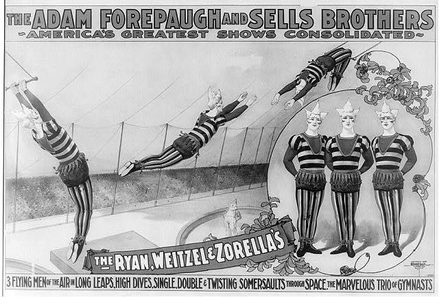 The Adam Forepaugh and Sells Brothers, America's greatest shows consolidated--the Ryan, Weitzel & Zorella's