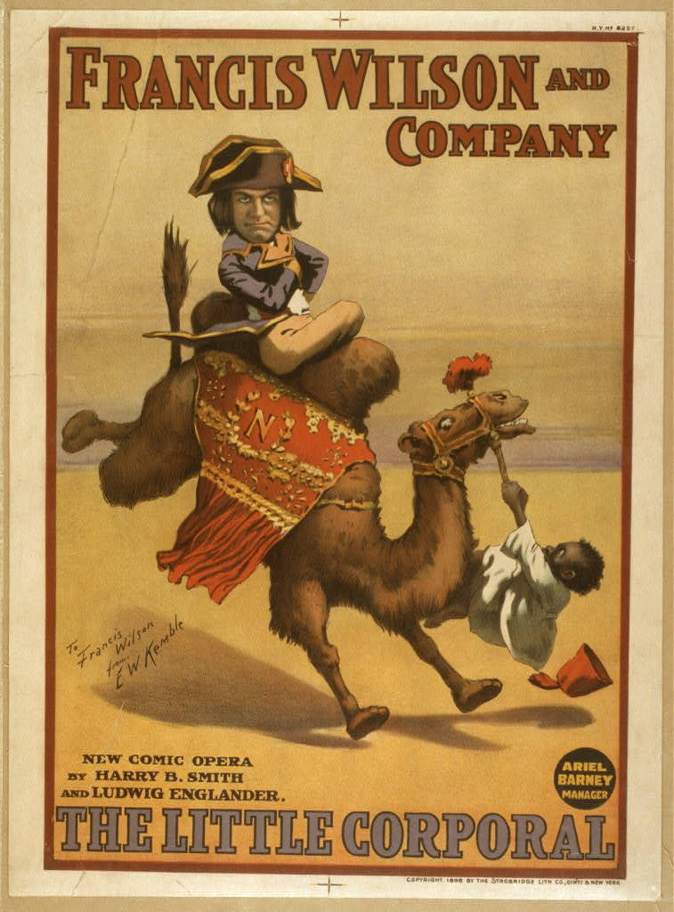 The little Corporal new comic opera by Harry B. Smith and Ludwig Englander.