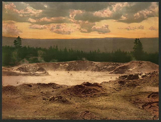 """The """"Paint Pot,"""" Yellowstone National Park"""