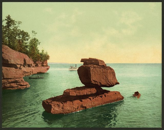The Sphinx, Apostle Islands, Lake Superior