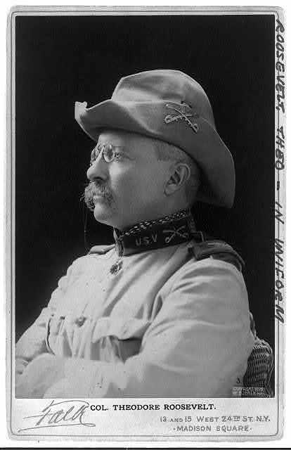 Theodore Roosevelt, Pres. U.S.