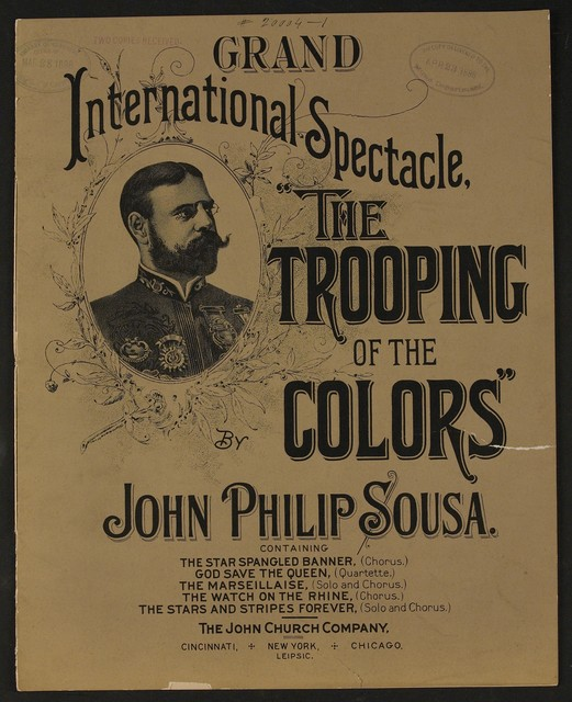 Trooping of the Colors [grand international spectacle]