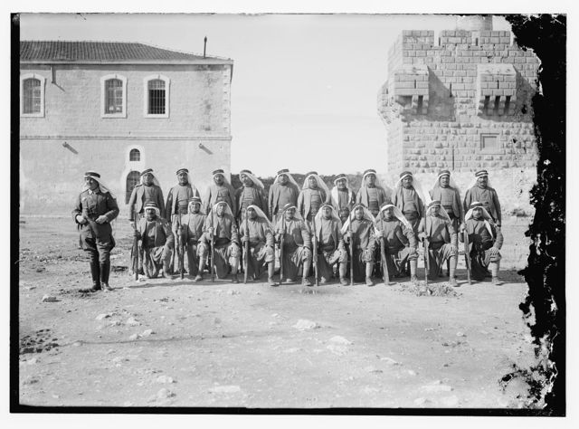 Turk. [i.e., Turkish] soldiers before Tower of David