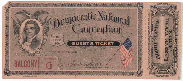 Twenty four pieces of announcements, cartoons, guests' tickets, etc., from Virginia, dating from 1898-1920.