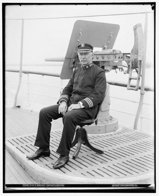 U.S.S. Buffalo, Captain Hutchins